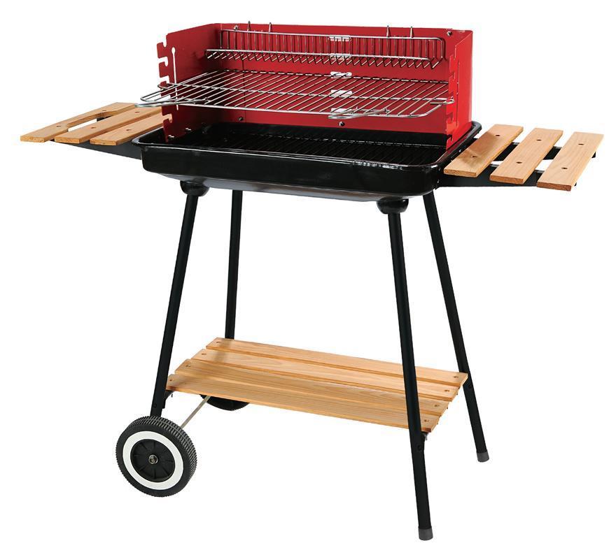 Gril BBQ Granada na drevené uhlie ,90x45x90cm,