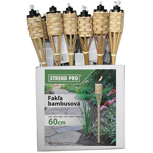 Bambusová fakla 60 cm BT-MB060, prepletaná