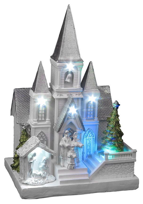Dekoráciak kostol s betlehemom