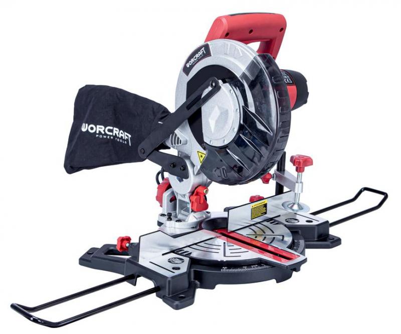 Píla pokosová s laserom Worcraft MST14-210, 1400W